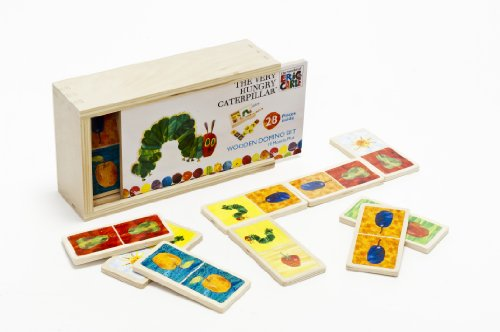 The Very Hungry Caterpillar Wooden Dominoes, By Rainbow Designs