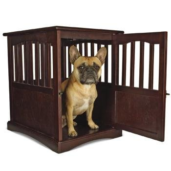 Planet Petco Natural Wood Dog Crate