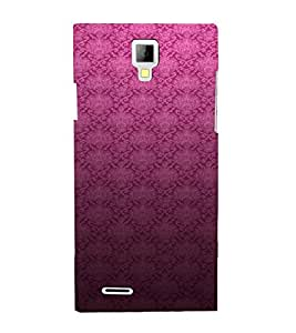 PrintVisa Royal Pattern 3D Hard Polycarbonate Designer Back Case Cover for Micromax Canvas Xpress A99