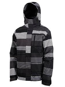 Protest Men's POKERFACE boardjacket  - True Black, Large (Old Version)