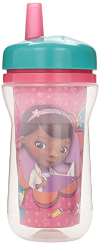 The First Years Disney Insulated Straw Cup, Doc Mc Stuffins, 9 Ounce