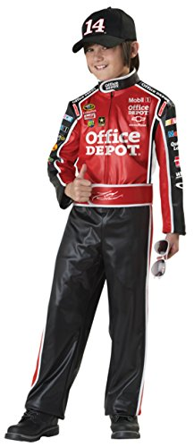 Boys Tony Stewart Kids Child Fancy Dress Party Halloween Costume