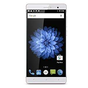 [2016 New Release] PADGENE® R8 Unlocked 3G Smartphone, 6 inch IPS(1280*720) Android 5.1 Mobile Phone---MTK6580 Quad Core 1.3GHz,1GB ROM 8GB RAM, Dual Sim(Dual Standby), Dual Camera(2.0M/5.0M),WIFI GPS G-Sensor SIM-Free 2G/3G Smartphone Phablet---Fit for Pokemon Go Games