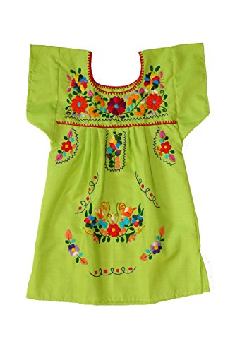 Mexican Clothing Co Girl's Tehuacan Puebla Dress