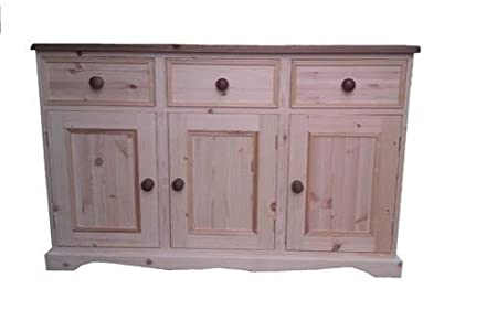 Wye Pine Sideboard - Complete - Colour: White