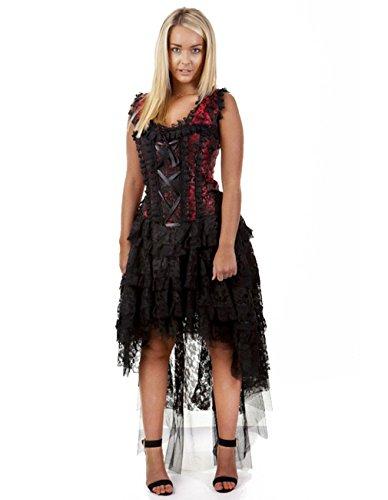 Burleska -  Vestito  - Donna Rot 50