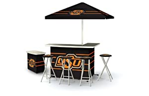 Best of Times Oklahoma State Deluxe Package Bar (Discontinued by Manufacturer) by Best of Times, LLC