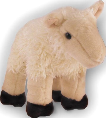 "Cream Sheep Cuddlekin 12"" by Wild Republic"