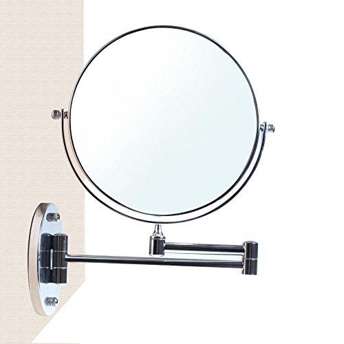 Himry cosm tica espejo espejo de aumento de pared for Espejo de aumento para bano