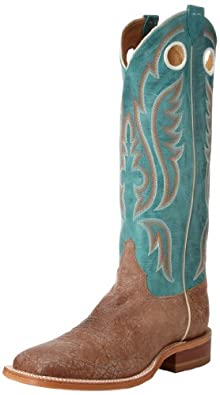 """Justin Boots Men's U.S.A. Bent Rail Collection 15"""" Boot Wide Square Double Stitch Toe Leather Outsole,""""Old Map"""" Cow/Blue """"America"""" Cow,6 D US"""