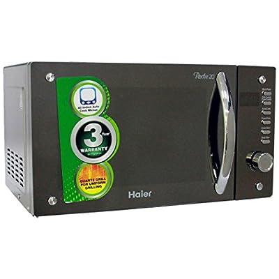 Haier HIL2080EGC 20-Litre Convection Microwave Oven (Sliver)