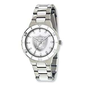 Ladies NFL Oakland Raiders Pearl Watch by Jewelry Adviser Nfl Watches