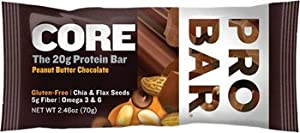 Probar Bars, Box of 12 - Core Chocolate Peanut Butter