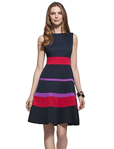 yacun-womens-color-block-sleeveless-fit-and-flare-casual-dress-s