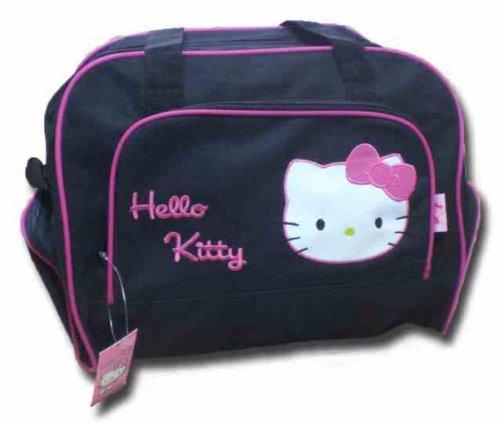 HELLO KITTY Sporttasche Tasche schwarz rosa reisetasche