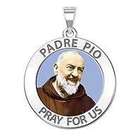 Custom Engraved Padre Pio Religious M…