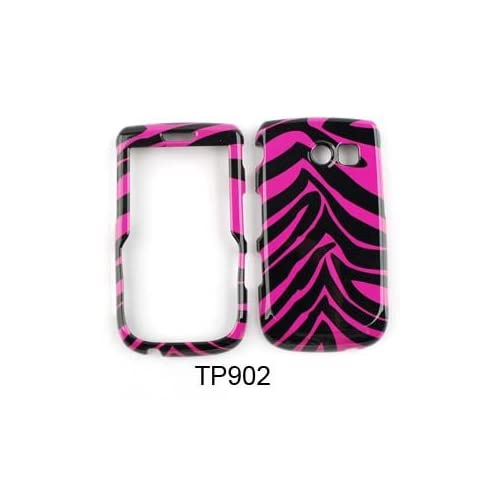 Samsung Freeform 2 / Messenger Touch R360 Pink Zebra Skin Hard Case/Cover/Faceplate/Snap On/Housing/Protector