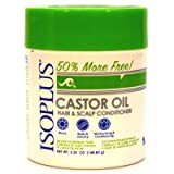 Isoplus Castor Oil Hair/Scalp Conditioner, 5.25 Ounce