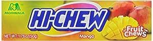 Morinaga Hi-Chew Mango Fruit Chews, 1.76-Ounce Packages (Pack of 20)