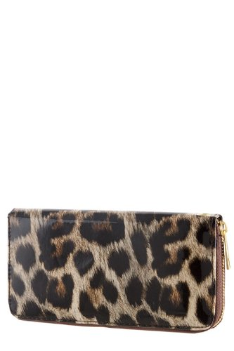 TRENDY FASHION LEOPARD SKIN PRINT WALLET BY FASHION DESTINATION Picture