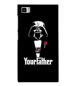 EPICCASE Your Father Mobile Back Case Cover For Xiaomi Mi3 (Designer Case)