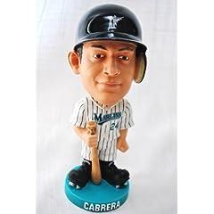 Miguel Cabrera #24 rare Florida Marlins MLB Knucklehead Bobble Head in origional Box