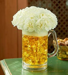 Flowers by 1800Flowers - Birthday Beer Mug Of Blooms Bouquet