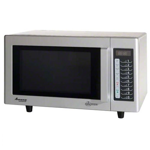 Amana Microwave Amana Rcs10ts 1000 Watt 5 Power Level Commercial Microwave Oven Review And Discount