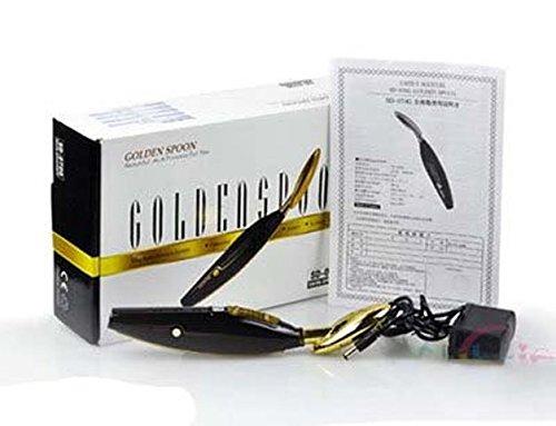 Golden Spoon Facial Massager Machine Galvanic Skin Care Bio Face Lift Massager