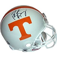 Peyton Manning Autographed Hand Signed Tennessee Vols Full Size Replica Helmet (top...