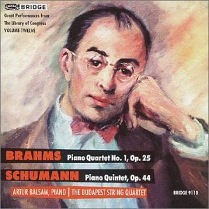 Great Performances from the Library of Congress: Brahms Piano Quartet op. 25 / Schumann Piano Quintet op. 44