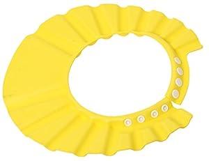 Hangqiao Sombrero Visera de casquillo Gorro Impermeable de Ducha Bano para protector Bebes Ninos amarillo en BebeHogar.com