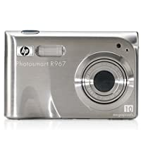 HP Photosmart R967 10MP Digital Camera with 3x Optical Zoom by Hewlett Packard