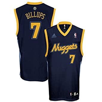 Chauncey Billups Denver Nuggets Navy NBA Youth Revolution 30 Replica Jersey by adidas