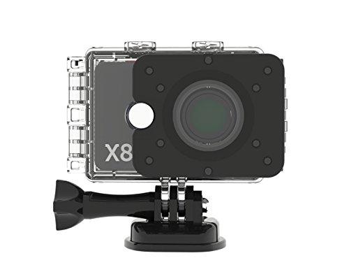 Actionpro-200004-X8-Sport-und-Actionkamera-12-Megapixel-2-Zoll-LCD-silberschwarz