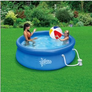 Quick Set Ring Pool 8 39 X 30 With 580 Gph Filter Pump Reviews Best Ring Pools For Summer