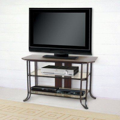 Cheap Delaney 40″ TV Stand in Middleton Brown and Walnut (DF1095R)