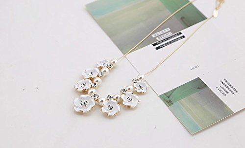 winters-secret-pure-fresh-quietly-elegant-white-flowers-glod-plated-choker-necklace
