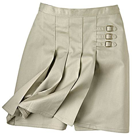 Buy Dickies School Uniforms Skirt 20.5 Khaki Girls