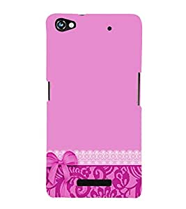 Classic Wallpaper 3D Hard Polycarbonate Designer Back Case Cover for Micromax Canvas Hue 2 A316