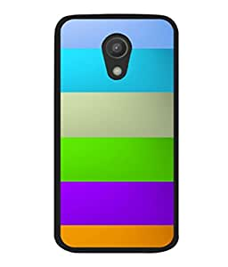 printtech Tiles colored Pattern Back Case Cover for Motorola Moto G2 X1068 , Motorola Moto G (2nd Gen)
