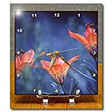 Alberta, Jasper National Park. Wood lily flowers-CN01 BJA0004 - Janyes Gallery - 6x6 Desk Clock