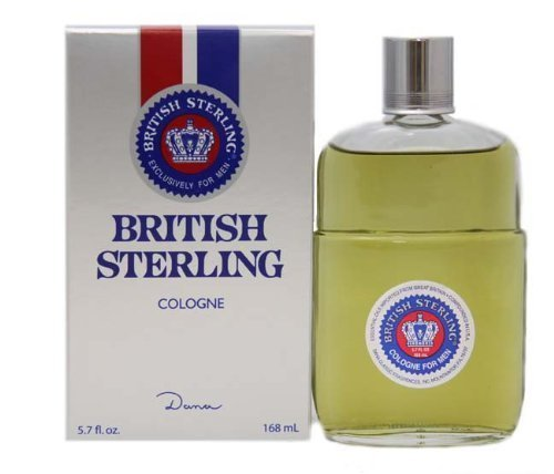 British Sterling da uomo con Dana 168 Eau De Cologne Splash ml