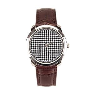Dr. Koo Trendy Wrist Watch Phone Chic Leather Watch Men
