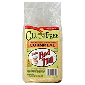 Bob's Red Mill Red Mill Gluten Free Corn Meal, 24-ounces (Pack of4)