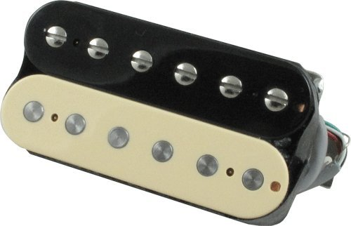 pickup covers gibson 498t alnico humbucker black creme. Black Bedroom Furniture Sets. Home Design Ideas