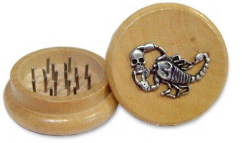 Handmuller 2'' Designer Wooden Herb Grinder (Assorted) #8