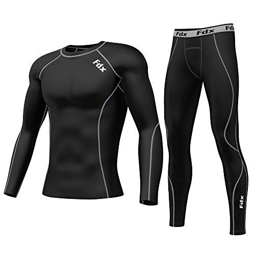 fdx-armour-maglia-da-uomo-a-compressione-strato-base-aderente-leggings-a-compressione