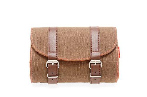 new-looxs-mondi-saddlebag-canvas-brown