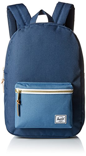 Herschel Supply Co. Settlement Mid-Volume Backpack 1-Piece, Navy/Captain's Blue, One Size